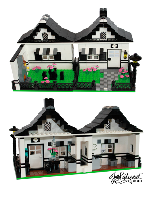 La Petite Maison The Little House Lego Instructions